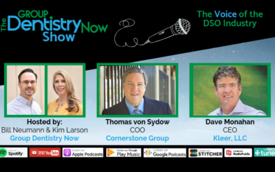 Thomas von Sydow of Cornerstone Group Featured on the Group Dentistry Now Podcast